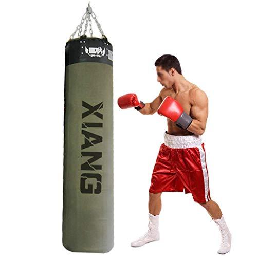 LWXTY Hollow Boxing Punch Bag, Canvas Sanda Gym, Martial Arts Taekwondo Verticale opknoping boksen bokszak voor tieners en volwassenen