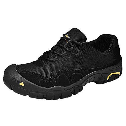 shoes Calzado Deportivo para Hombre Four Seasons, Zapatillas de Running Transpirables y Antideslizantes. Lock-Libre de los Zapatos de conducción, Adecuado para Caminar/Pesca/Turismo