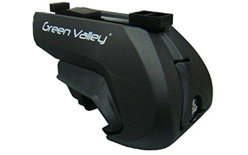 GREEN VALLEY TREK 600 - 4 PIEDI PER BARRE PORTATUTTO (vetture con mancorrenti) cod. 156600