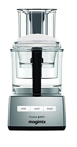 Magimix 18591 5200XL Küchenmaschine, BPA-frei, 1100 W, Satin