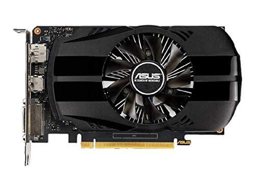 ASUS NVIDIA GeForce GTX 1650 Phoenix 4G Gaming Grafikkarte (PCIe 3.0, 4GB DDR5 Speicher, HDMI, DVI, Displayport)