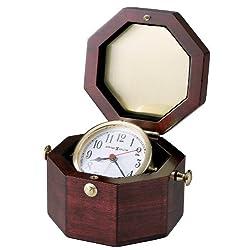 Howard Miller 645-187 Chronometer Weather & Maritime Table Clock