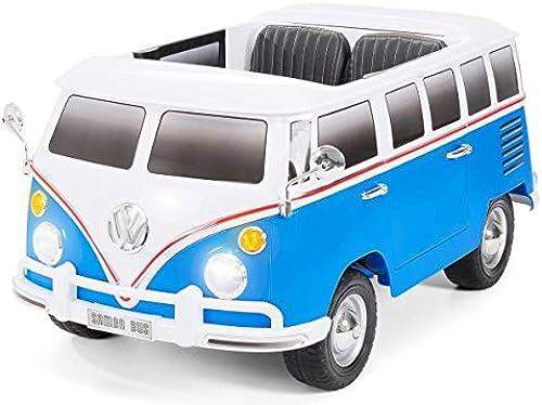 en promociones de estadios VW Furgoneta Clasica 12V, azul, azul, azul, 2 PLAZAS, Mando RC  ventas en linea