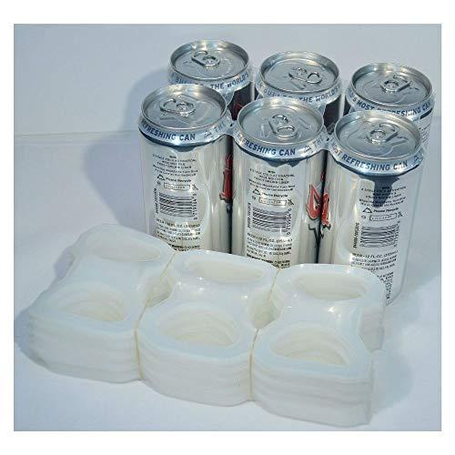 Pack of 6 Plastic Rings Beer SODA Liquor CAN Rings - 1000 Count   AKUnlimited