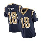 KǔPP 18# Jersey de Rugby en Plein air New Jersey Jersey, Sports arbitraux Respirants à Haute densité Sweatshirts pour Hommes Dark Blue-XL