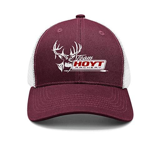 Hoyt-Archery-Logo-Vintage - Gorro de malla ajustable unisex para camión, talla única