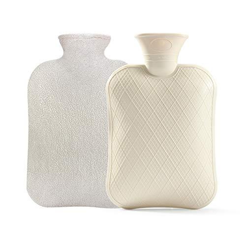 BYXAS Classic Rubber Hot Water Bottle