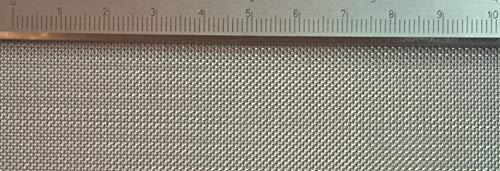 Edelstahl Drahtgewebe mit 0,5mm Maschenweite, 0,2mm Drahtstärke. 1m x 80cm