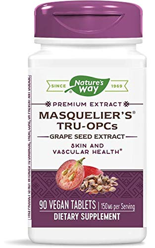 Masquelier's TruOPCs Grape Seed Extract Supports Skin and Vascular...