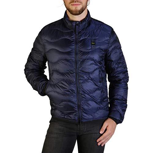 Blauer 18SBLUC03161 004938-894 Cappotto, Blu (Blu Notte Scura), X-Large (Taglia Produttore:XL) Uomo