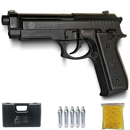 Ecommur Taurus PT92 CO2 | Pistola de Airsoft por CO2 Tipo Beretta 92 Calibre 6mm semiautomática