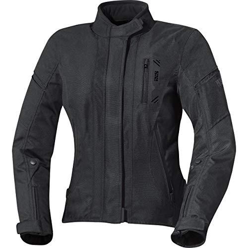 IXS Motorradjacke mit Protektoren Motorrad Jacke X-Damen Jacke Alana Evo schwarz XXL, Tourer, Ganzjährig, Polyester