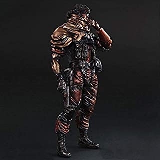 SQUARE ENIX OFFICIAL Figura Metal Gear Solid V Punished Snake 28 cm Play Arts Sneak Preview Version