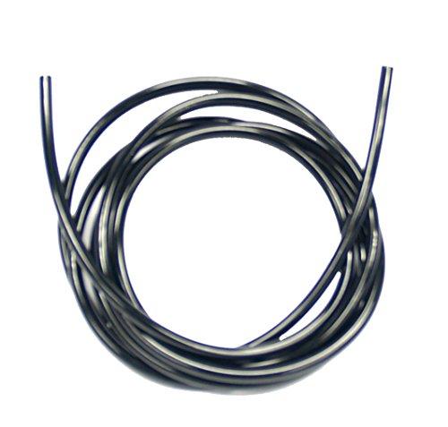 Dennerle Crystal-Line CO2-Tuyau flexible noir, 2 m