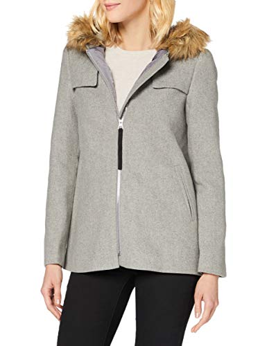 Springfield 8238510 Trenchcoat, Gris, 42 Womens