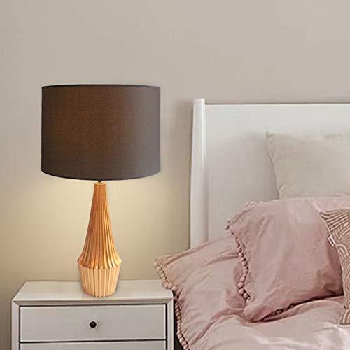Hogreat Smart led Lámpara Negro Lámpara de Resina Lámpara de Mesa Escritorio Sala de Estar Dormitorio Dormitorio Light Light Europeo Moderno Minimalista Adornos Decorativos 38 * 67cm