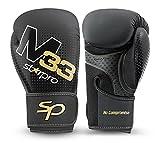 Starpro M33 Guantes de Boxeo de Cuero sintético Mate para Entrenamiento y...