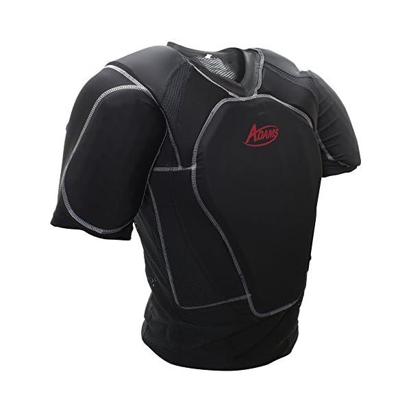 ADAMS USA UCP-LP-L-BK Umpire Chest Protector Low Profile Shirt, Black, Large