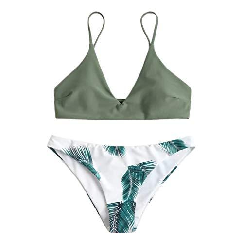 Bikini Set Dames Hoge Taille Retro Bloemenprint Goedkope Surf Bikini Push Up Badpak Strandjurk Over Bikini Met Short