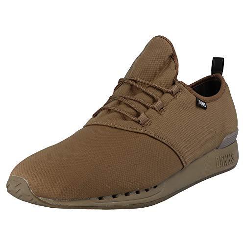 Djinns - MocLau Hump Camo Herren Sneaker Low-Top Schuhe (Olive), EU 40