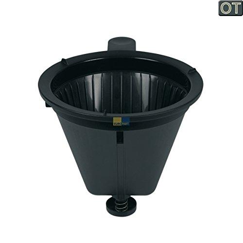 Philips 996500006592 ORIGINAL Kaffeefilterbehälter Filterhalter Cafe Gormet für Filter Gr.102 HD5400 HD5405 Schwarz Filterkaffeemaschine Kaffeemaschine