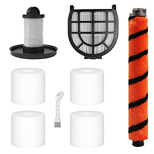 4 Pack Foam & Felt Filters, 1 Soft Main Brush, 1 Pre-Motor Filter & 1 Post-Motor Hepa Filter for Shark LZ600, LZ601, LZ602, LZ602C APEX UpLight Lift-Away DuoClean Vacuum Cleaner. Compare to Part # XFFLZ600 & XHFFC600.