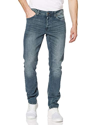Only & Sons Onsloom Life Slim Green Cast PK 8636 Jeans, Blu Denim, 29W x 32L Uomo