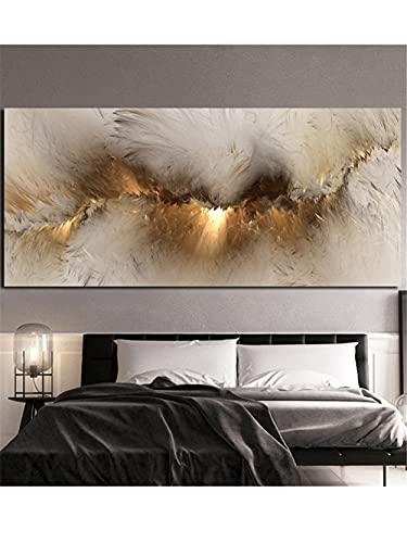 5D DIY Kit de Pintura de Diamante Taladro Completo Adultos/Niños, Resumen de la nube Bordado Diamond Painting Punto de Cruz Mosaico Artística, para decor de la pared del hogar Round drill,40x80cm