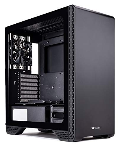 Thermaltake S300 Tempered Glass Edition ATX Mid-Tower Computer Case with 120mm Rear Fan Pre-Installed CA-1P5-00M1WN-00