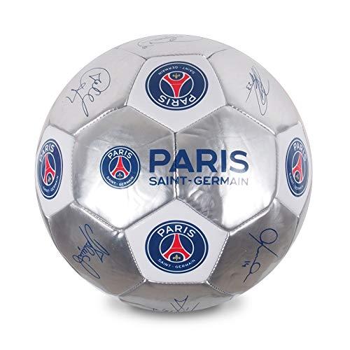 Paris SaintGermain F.C. PSG Official Gift Size 5 Signature Football Silver