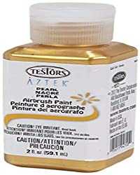 commercial Tester Airbrush Paint Pearl Gold aztek airbrush paint