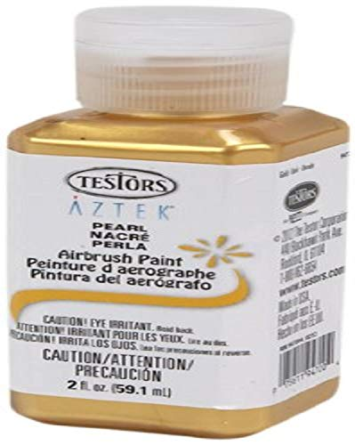 Testors Airbrush Paint, Pearl Gold