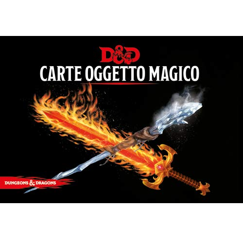 Asmodee Italia- Dungeons & Dragons-5a Edizione-Carte Oggetto Magico, Colore, 4031