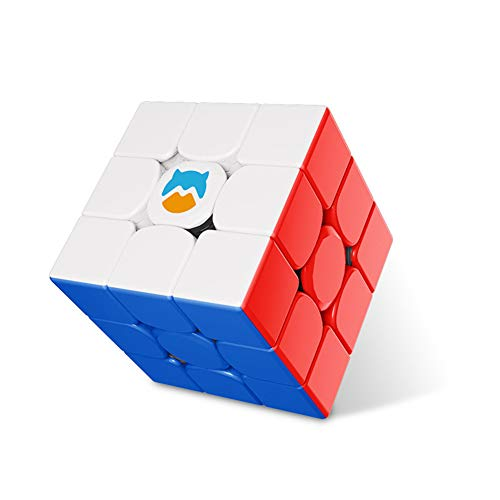 LEDM GAN Monster Go 3x3 MG3 Speed Magic Cube Serie de Aprendizaje estatal sin Pegatinas Juguete de Rompecabezas,Standard Magnetic