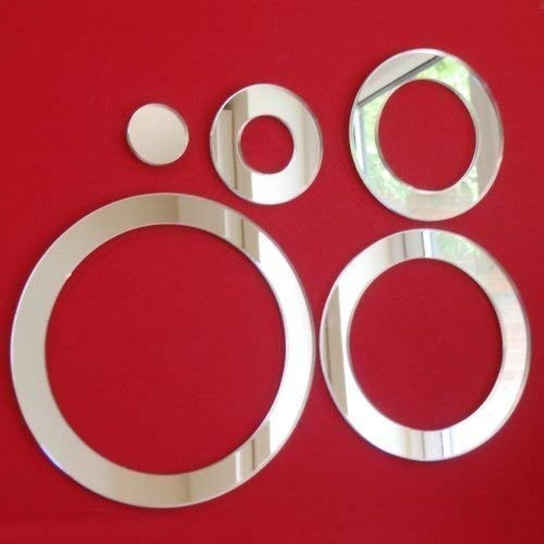 Infinity 35cm x 35cm Mirror Circle nsqquy685-Furniture - composants