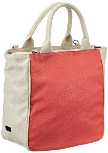 Mexx Damen 13baw009-Light Colors Tote Shopper, Pink (Bright Hibiscus 674), 33x32x16 cm