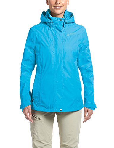 Maier Sports Damen Metor W Funktionsjacke, Blau (Hawaiian Ocean), 38