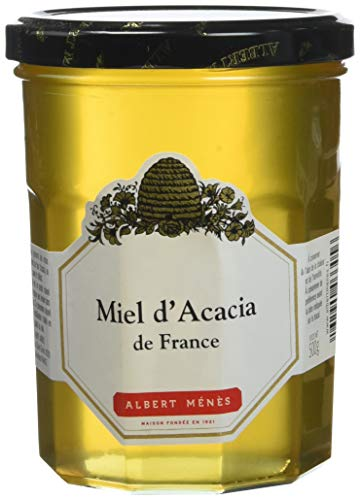 ALBERT MENES AM - Les Miels - Miel d'Acacia de France 500 g - Lot de 2