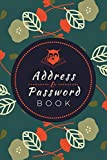 Address And Password Book: All in One Address Logbook, Internet Password Tracker & Important Dates Reminder to Keep You Organized   Handy Contacts & Password Record Keeper