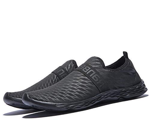 Zapatos de Agua Descalzos Zapatos para Hombre Aqua Sports Zapatos de Piel de Secado rápido para Playa Surf Canotaje Pesca Yoga Buceo Caminar