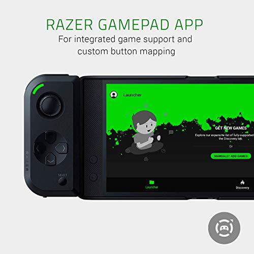 Razer Junglecat: Mobiler doppelseitiger Gaming-Controller für Android (Modulares Design, Mobile Gamepad App, Bluetooth mit niedrigen Latenzen) für Razer Phone 2,Huawei P30 Pro und Samsung Galaxy S10+ - 5