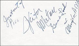 Victor Mature - Autograph Sentiment Signed