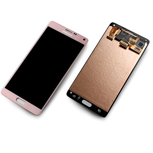 Samsung Galaxy Note 4 SM-N910F pink Display-Modul Touchscreen Digitizer GH97-16565D