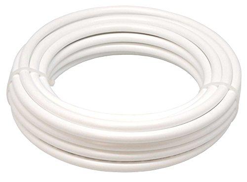 Drip&Fresh Rollo de tubería Blanca con Tratamiento Anti UV, 25 m, C5108-25