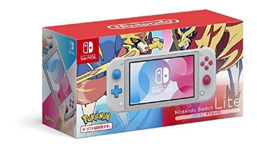 Nintendo Switch Lite - Édition Pokémon Zacian & Zamazenta