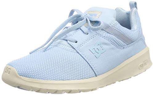 DC Shoes Damen Heathrow Skateboardschuhe, Blau (Light Blue LBL), 39 EU