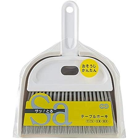 オーエ ほうき 白 縦22×横17×奥行3.5cm サッとる2 テーブル 玄関 車内 掃除 簡単