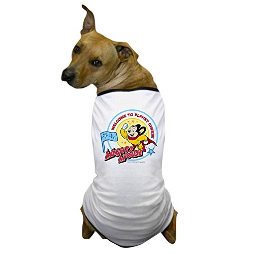 CafePress Mighty Mouse: Planet Cheese Dog T Shirt Dog T-Shirt, Pet Clothing, Funny Dog Costume