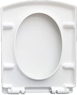 Asdfnfa Toilet Cover Universal Toilet Seat Square Toilet Seat Universal Thick Pumping Toilet Lid (Color : A)