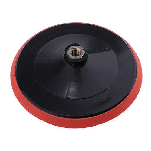 3x SONAX 04932000 Klett-Stütz-Teller 125 Polierteller M14-Gewinde 1 Stück